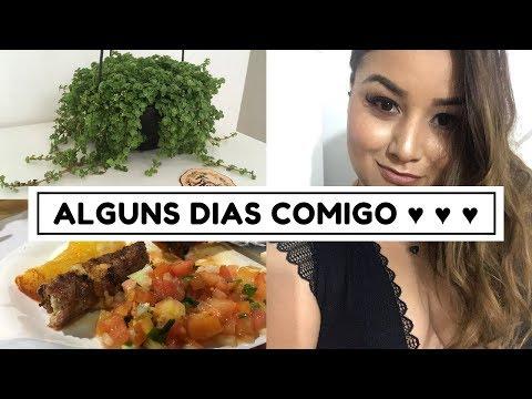 VLOG: ROTINA, FINAL DE SEMANA, CHURRASCO E MAIS PLANTAS! ♥ (+ RECADO IMPORTANTE!!!)