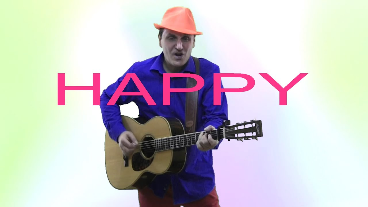 pharrell williams happy fingerstyle guitar cover by enyedi