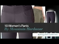 10 Women's Pants By Mountain Hardwear Spring 2017 Collection