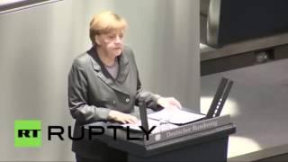 Послание Меркель Путину прикол