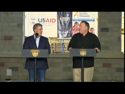 Press Remarks with President Duque in Cúcuta, Colombia