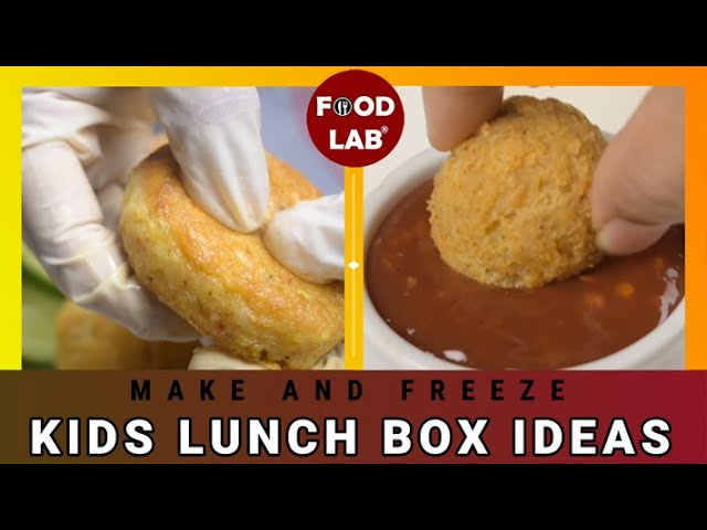 Quick and Easy Recipes for Kids Lunch Box - 2| Kids Lunch Box Ideas - 2 | Food Lab