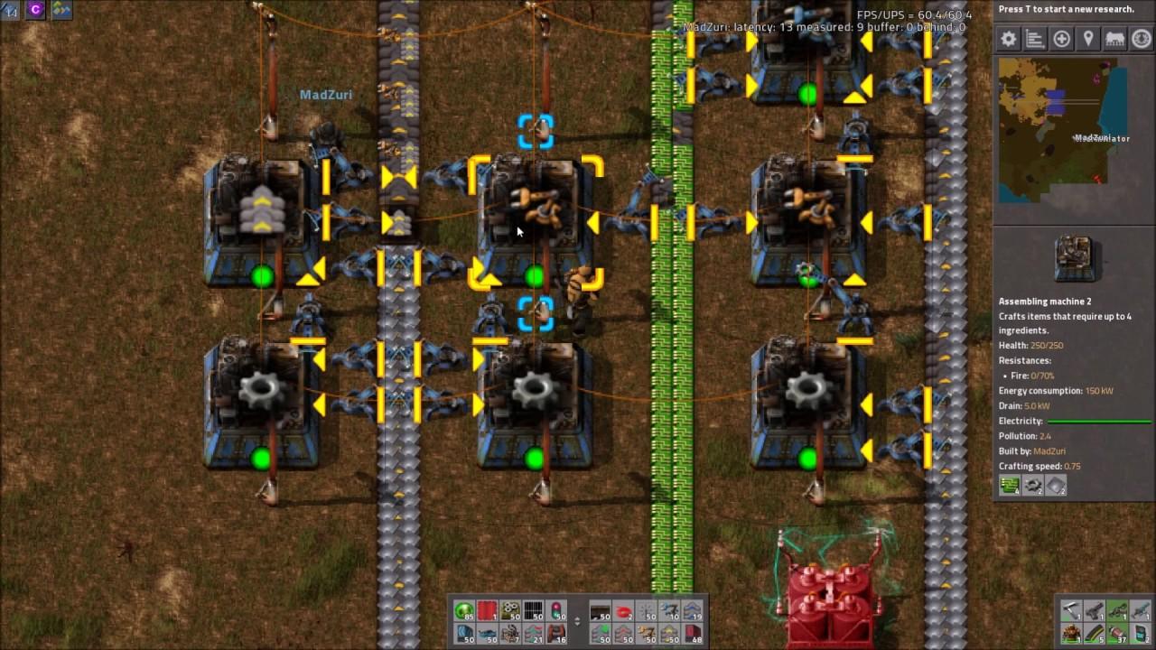 Factorio Workshop - Building A Better Factory :: Inserter Production