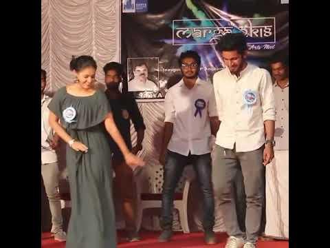 Saniya Queen Team dancing | Podipaarana Song | College Queen Promotion