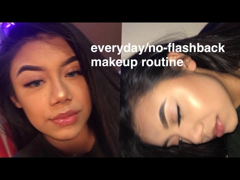 my everyday/no flashback makeup routine