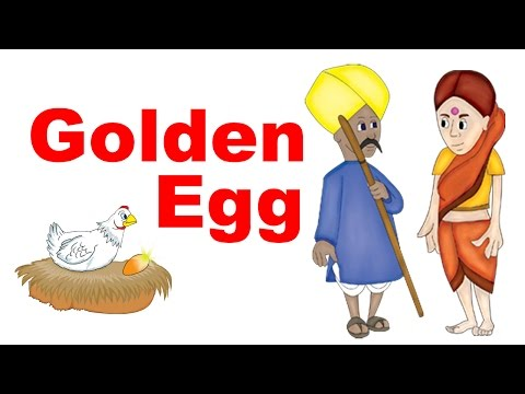 Golden Egg Story In English - English Stories For Kids I Bedtime Moral Stories For Kids In English