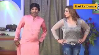Sajan Abbas And Khushboo New Pakistani Stage Drama Shurli Full Comedy Clip 2018