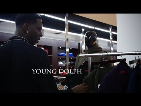 Young Dolph Shops At Size Clothing Store Houston TX