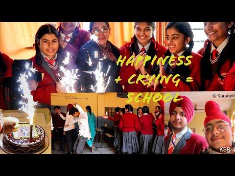 Last Day of School  ????|| Emotional || St. Francis School Batala||