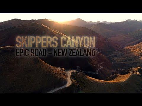 Skippers Canyon, New Zealands best drive #VettasINNZ