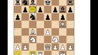 Gambito morra ,como darle al alfil en g7 (hay unos problemitas de audio,pero to bien)