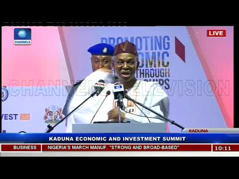 El-Rufai Commits To Kaduna Economic Growth Through Opportunities Pt.1 |KADINVEST|