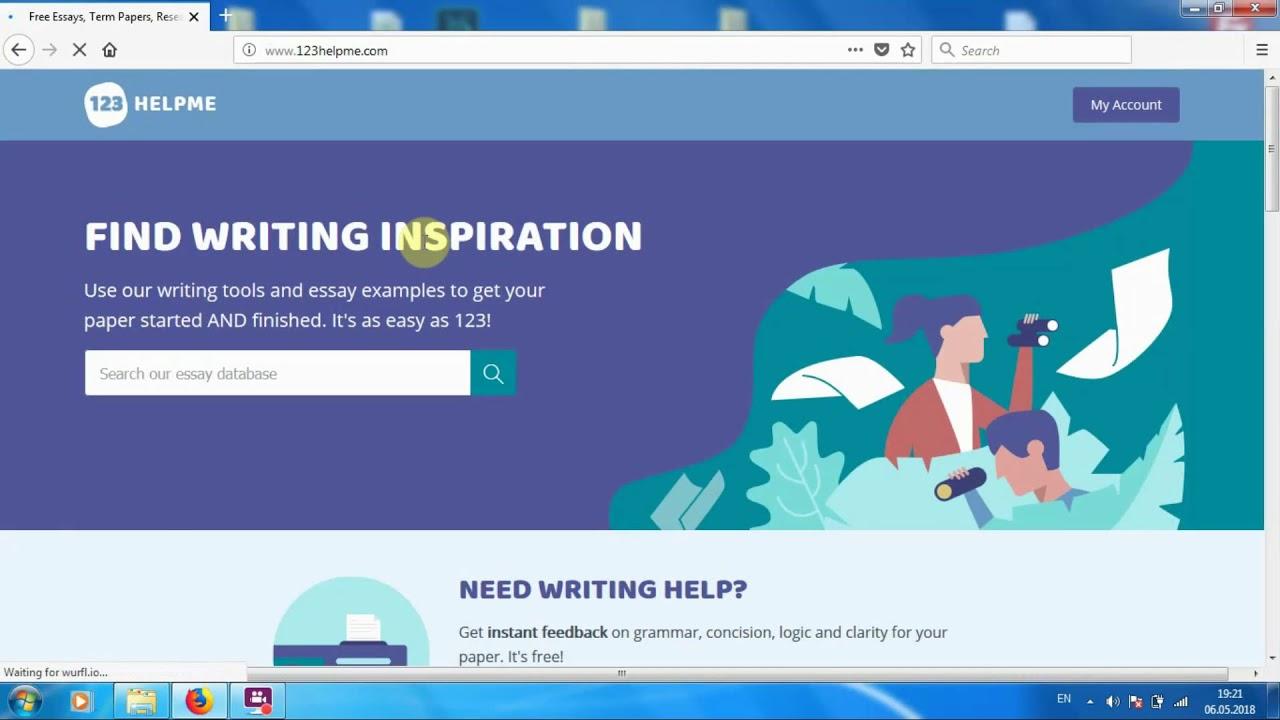 Essay website free