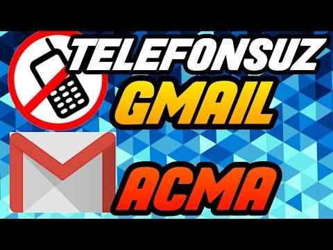 Telefon Numarası Kullanmadan Gmail Hesabı Açma !! ( Android )