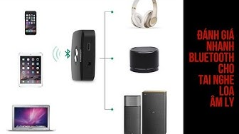 review wireless Bluetooth 4 1 Music Receiver cho loa amply ugreen 30444