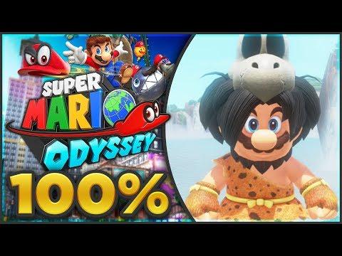 Super Mario Odyssey - Cascade Kingdom 100% All Moons & Coins! [🔴LIVE]