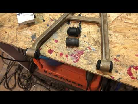 CF MOTO X8 переделка рычагов подвески , замена сайлентблоков .