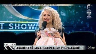 Andreea Bălan aduce pe lume trupa Andre! Va naşte o fetiţă!
