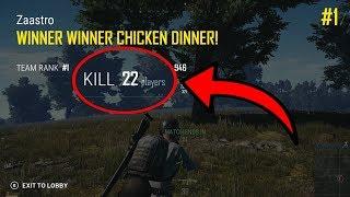 PLAYING LIKE SHROUD! Xbox PUBG 22 KILLS WIN!!