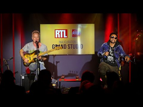Sting & Shaggy - Don't Make Me Wait (Live) Le Grand Studio RTL