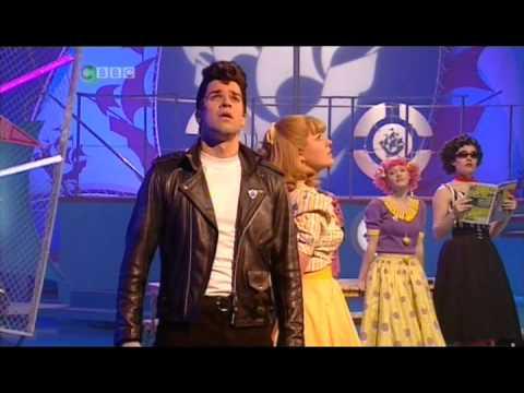 Grease on Blue Peter - Gethin Jones