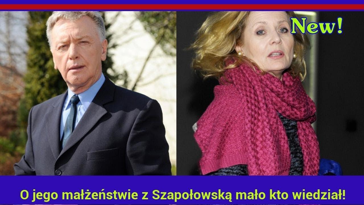 Marek Lewandowski: O jego małżeństwie z Szapołowską mało kto wiedział!
