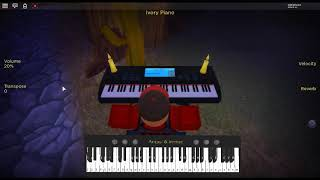 Lemon by: Yonezu Kenshi su un pianoforte ROBLOX.