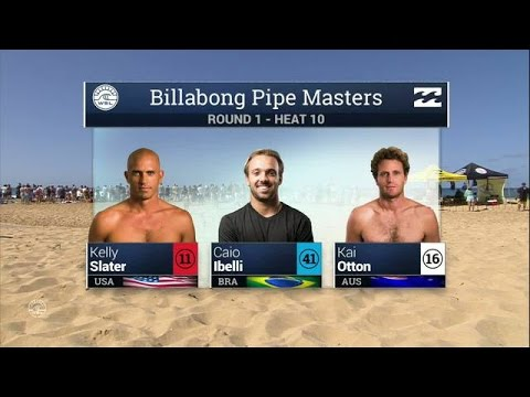 Billabong Pipe Masters Round One, Heat 10