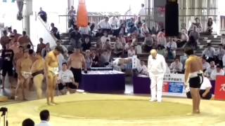 Mongolia VS Georgia Teams Sumo World Champs 2015