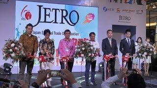 Jetro (japan external trade organization) menyelenggarakan pameran gaya hidup sehat ala jepang healthy lifestyle exibition) di kota kasablanka pada ta...