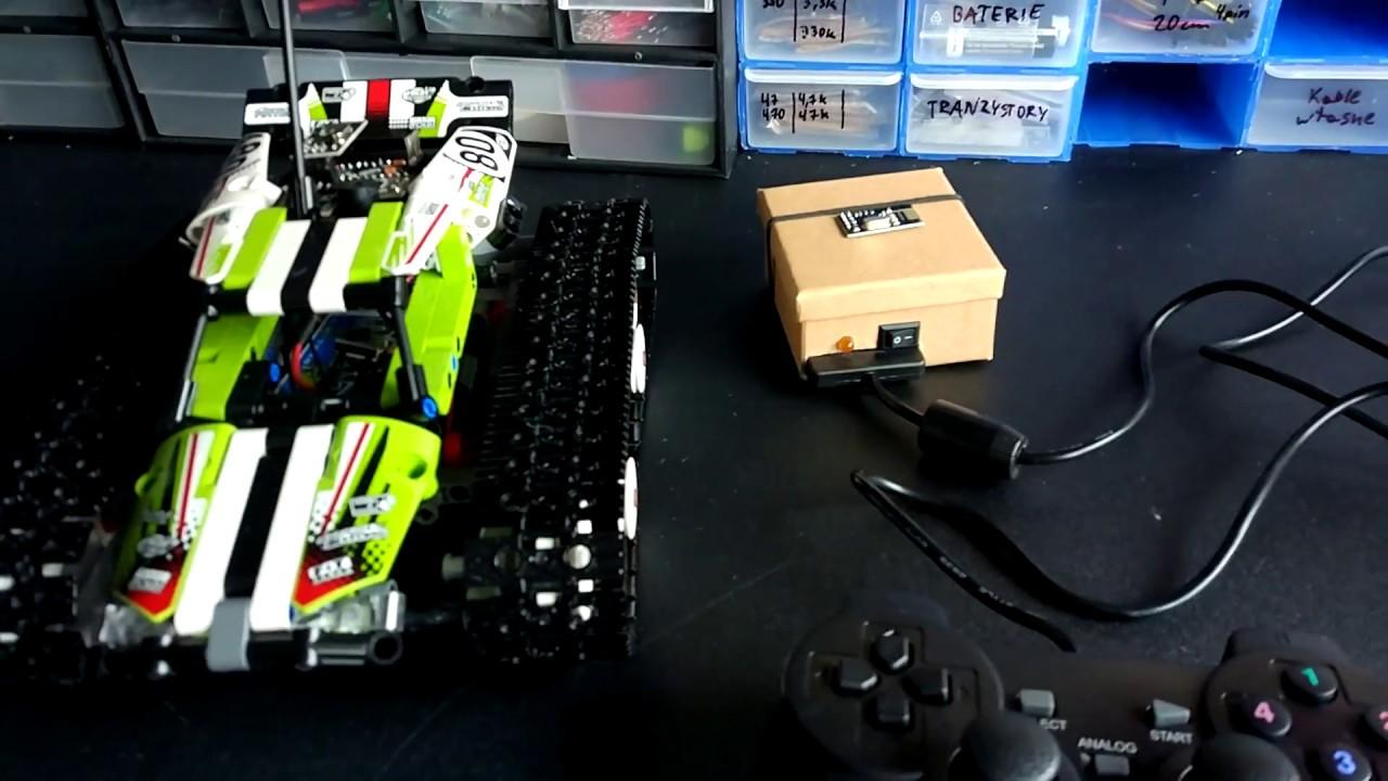 Arduino lego technic racer ps wireless ghz