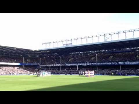 Sir Tom Finney moment at Goodison