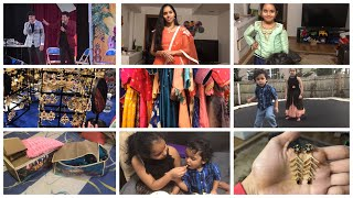 #DIML/SAT&SUNDAY VLOG/SANKRANTI CELEBRATIONS IN USA/SAREE ORGANIZATION/VANKAYA PERUGU BAJJI/FUN TALK