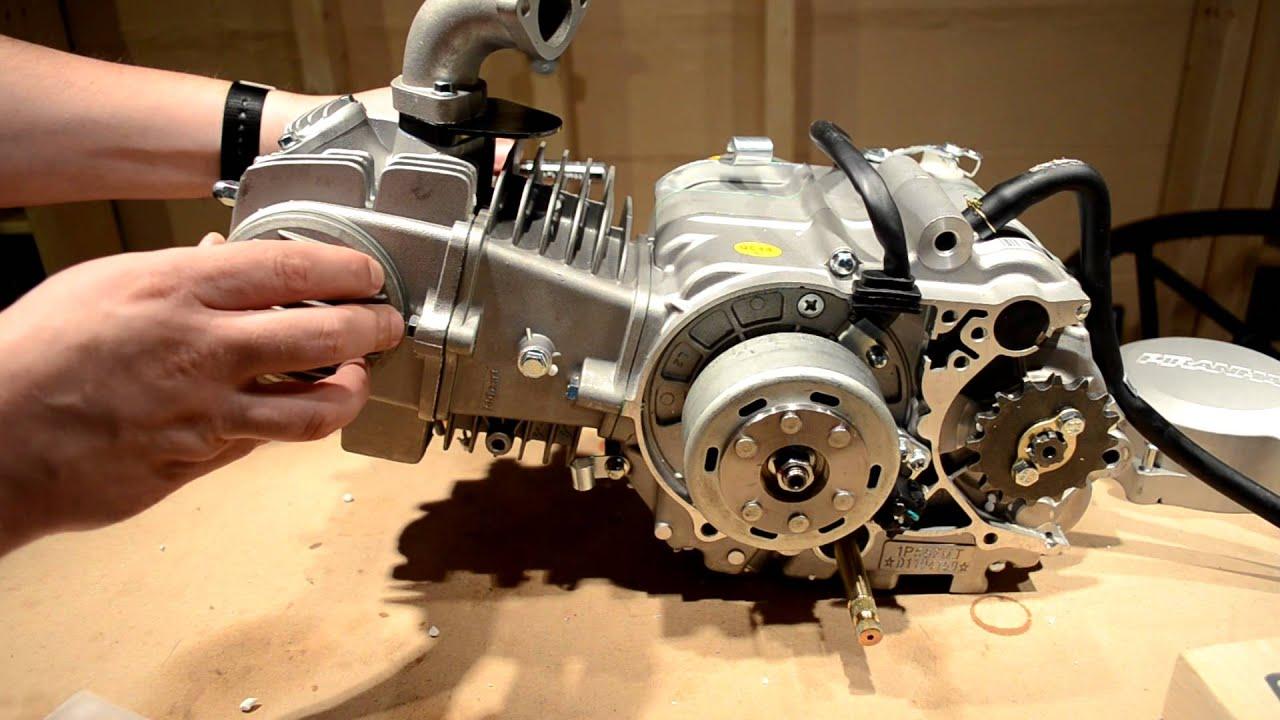 pit bike wiring diagram 98 ford mustang piranha 140cc - pre installation prep youtube