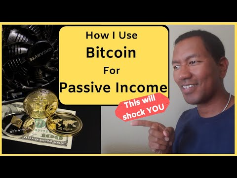 How I Use Bitcoin for Passive Income