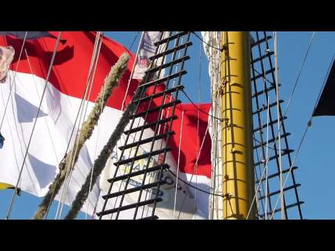 KRI Dewaruci in Nola Navy Week, April 2012
