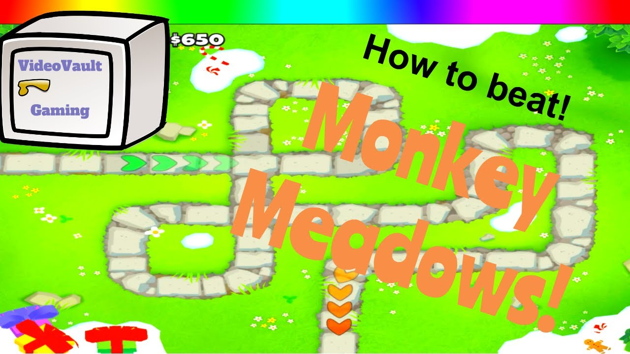 How to beat - Monkey Meadows Double Hp MOABs - Bloons TD 6
