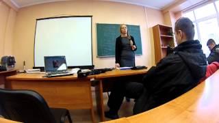 Лекция по ветеринарии от Насти