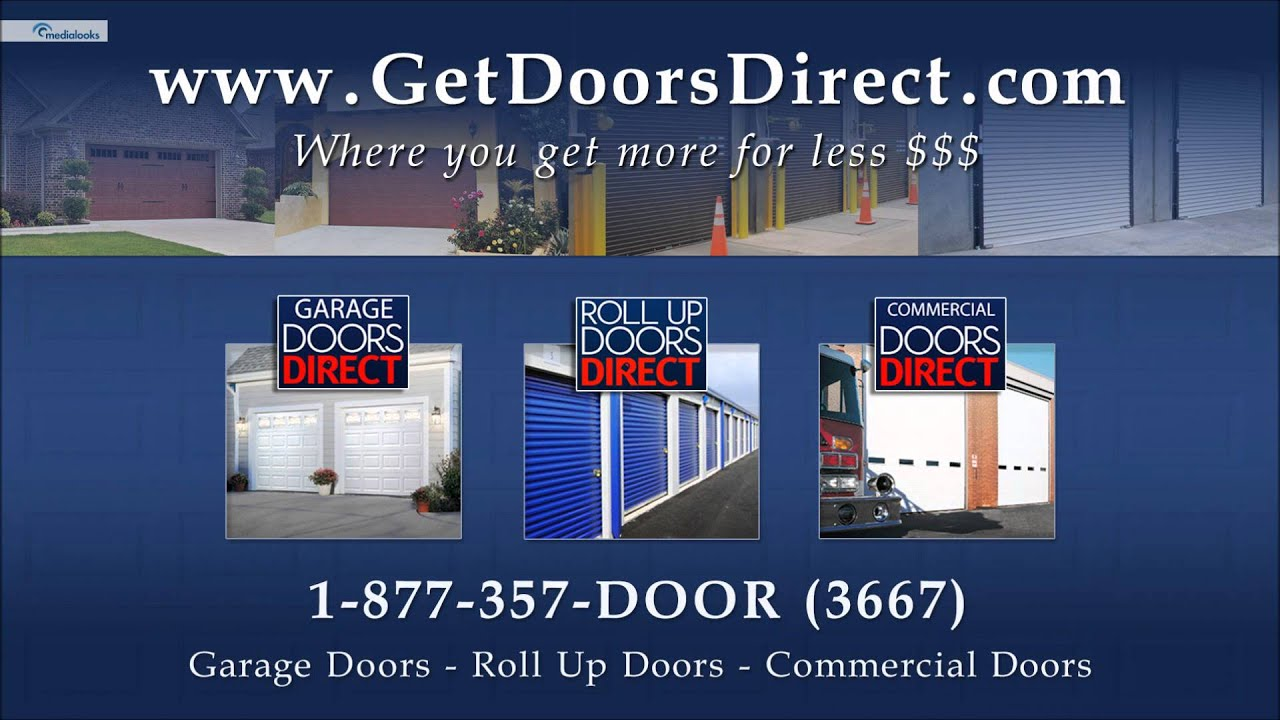 garage doors directRoll Up Doors Garage Doors Commercial doors  YouTube