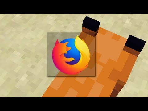 Running Mozilla Firefox In Minecraft
