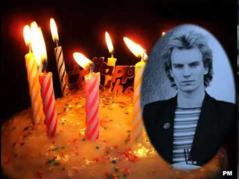 Happy Birthday Sting October 2 2012 Youtube