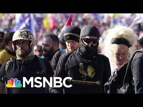 'This Is Dangerous': Violent Extremists Flock To Trump's Defense   The ReidOut   MSNBC