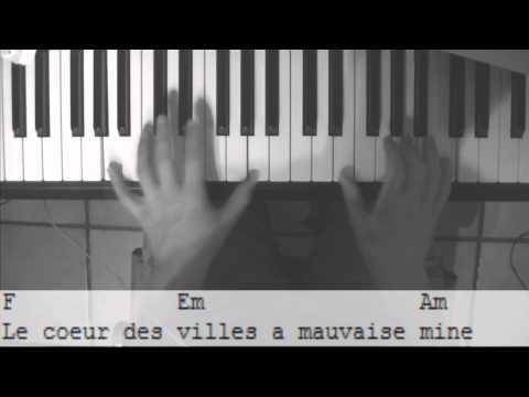 MAMAN - LOUANE (TUTORIEL PIANO)