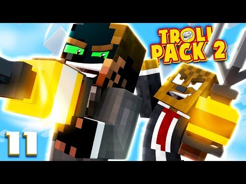 LET'S GET DOWN TO MISCHIEF! | Troll Pack Season 2 Modded Minecraft #11