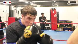 STEVE FOSTER JNR AND SEAN BEN MULLIGAN PADS SESSION (FINAL ROUND)