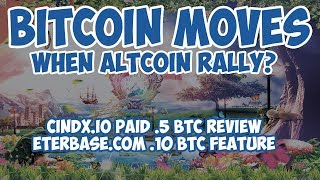 Bitcoin Move - When Altcoin Rally? CindX.io Review and Eterbase.com Feature
