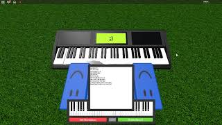 Playing Asgore's Song On Roblox Piano (GAME AND SHEETS IN DESC)