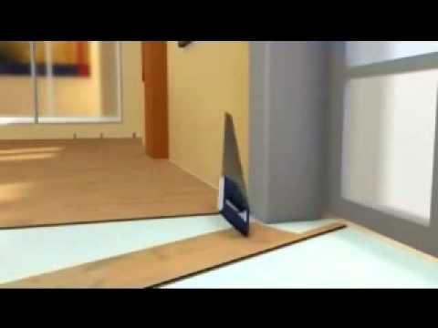 Como instalar piso laminado muy facil youtube - Como instalar piso parquet ...