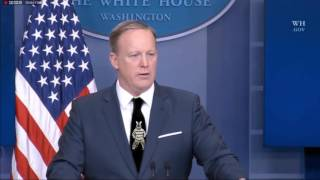 Sean Spicer Has a Nice Tie #JustAddZebras