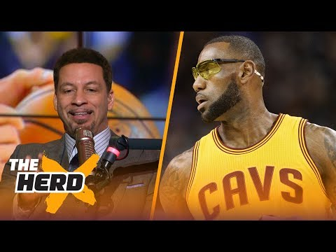 Chris Broussard on Lakers playoff chances in 2017-18, LeBron's future plans and more | THE HERD